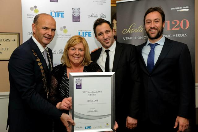 Leinster Region Awards 2012 Best Restaurant